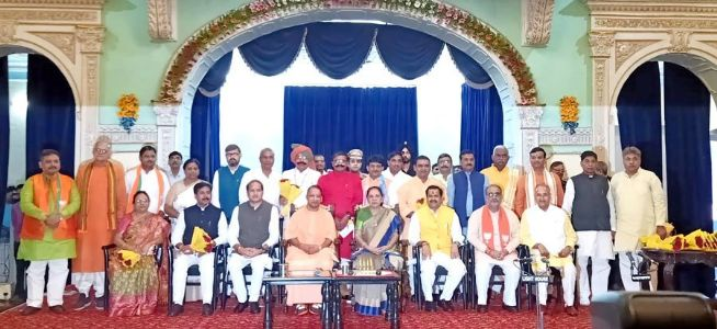 Uttar Pradesh CM Yogi Adityanath expands his cabinet