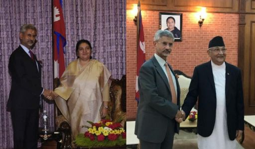 Completely affable, warm hearted! EAM S Jaishankar calls on Nepal's President and PM subsequent to 5th Joints Commission Meeting