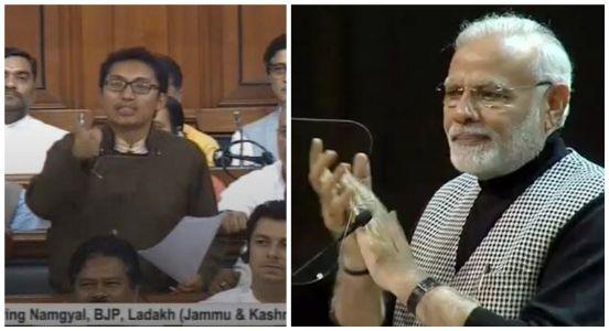 Outstanding speech, a must hear! PM Modi praises Ladakh MP Jamyang Tsering Namagyal for his fiery speech in LS