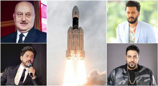 'We Shall Over Come' says Bollywood in solidarity praising ISRO for its exemplary hard-work