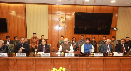 Holding reins of development, Home Minister Amit Shah signs pact to end crisis of Bru refugees