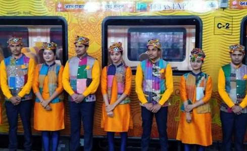 Ahmedabad-Mumbai Tejas Express flags off serving passengers with world-class facilities, on-board infotainment and more