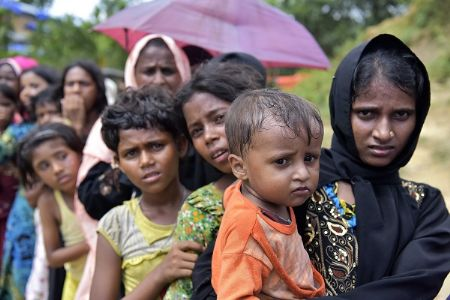 Bangladesh initiates relocation of Rohingyas