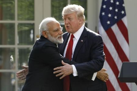 Namaste Trump; Demonstrating strong, enduring ties between two largest democracies of the world