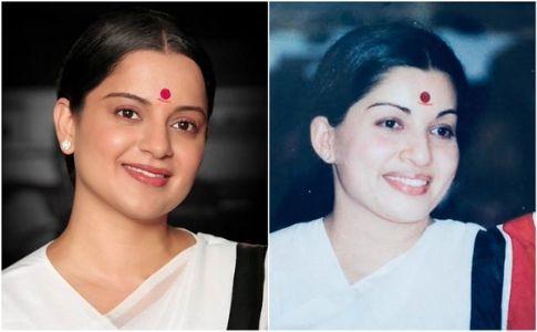Striking resemblance! Kangana Ranaut's transformation into Jayalalithaa for 'Thalaivi' stuns!