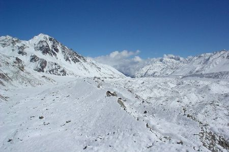 Is rising sea level contributing to shrinking land area in India? Glaciers in Sikkim lose mass faster than Himalaya