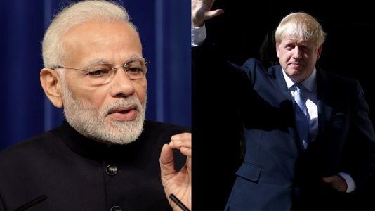British PM Boris Johnson tests +ve for corona! See what PM Modi comments