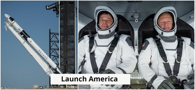 NASA and SpaceX prepares for historic launch