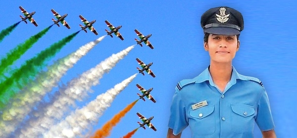 Aanchal Gangwal; becomes IAF's top Flying Officer - NewsBharati