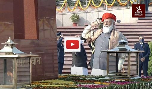 Watch: PM Modi leads nation in paying tribute to martyrs at National War Memorial