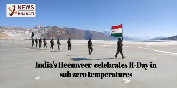 Watch: India's Heemveer celebrates R-Day in sub-zero temperatures