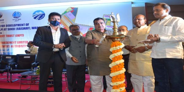 'Nagpur has full potential to become logistics capital': Gadkari after signing MoU on setting up of multi modal logistics park