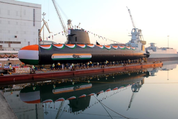 newsbharati navy submarine