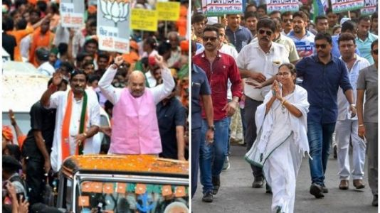 The Confident BJP vs Cantankerous Mamta & frustrated TMC in WB
