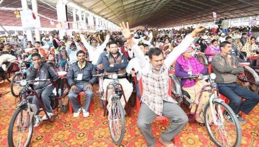 3805 Divyangjans to receive COVID assistive devices at 'Samajik Adhikarita Shivir' Jamnagar