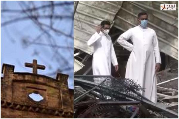 Southe Delhi Church demol