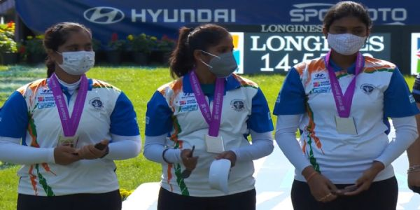 India clinches two silver medals at Archery World C'ships