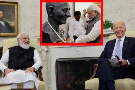 Why can't PM Modi praise Gandhi ji on international platform? Congress must explain-