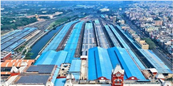 Chennai Central Station now fully powered by solar energy; PM Modi lauds